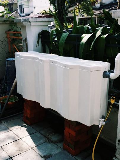 Rain Harvesting System / Rainwater Storage System in Rawang Malaysia