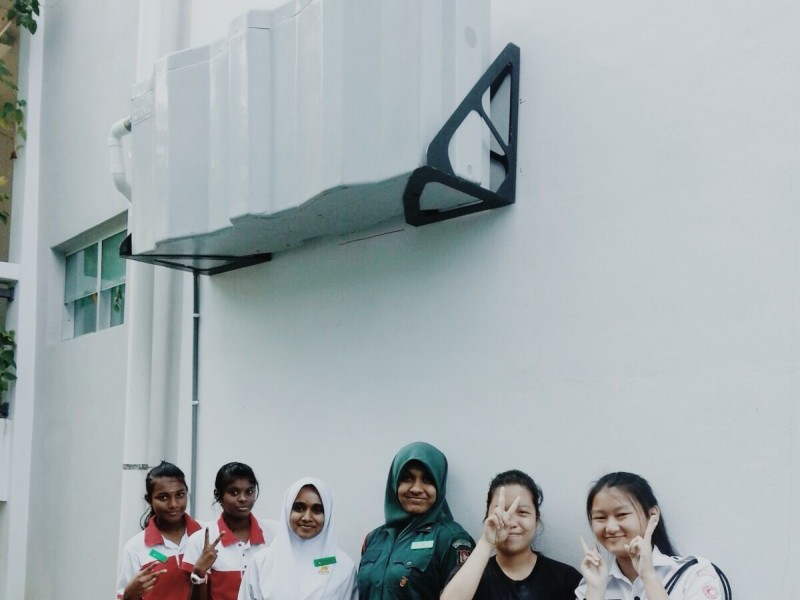 Voda Rainwater Harvesting System Malaysia_Methodist Girls School Penang