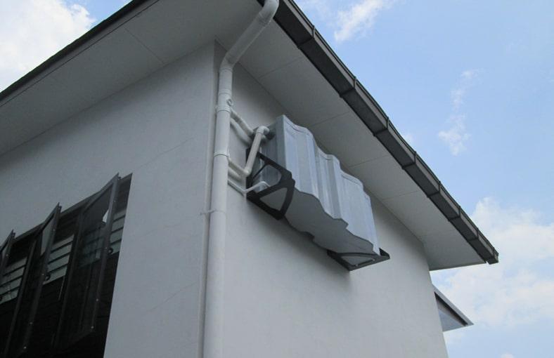 rainwater harvesting system for residential houses