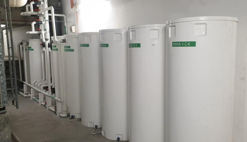 rainwater harvesting system modular designs